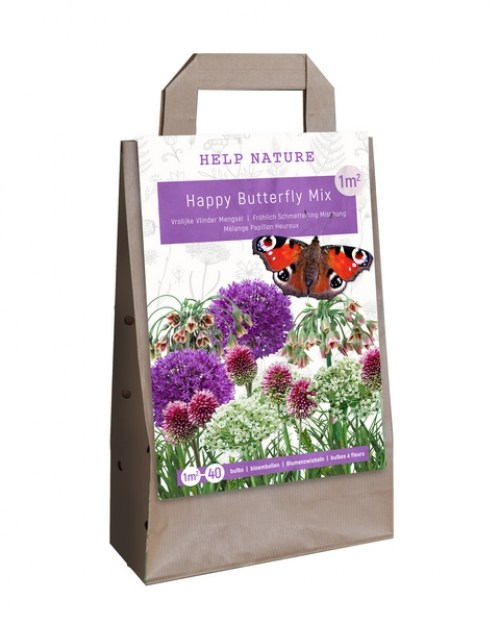 720.210 Bag Help Nature - Happy Butterfly Mix97